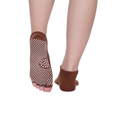 Bamboo Five Toe Yoga Non-Slip Socks Wholesale