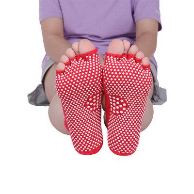 Japan Five Toe Socks Pilates Socks Anti Slip