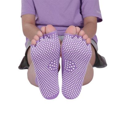 Athletic Bamboo Toe Socks Yoga For Women