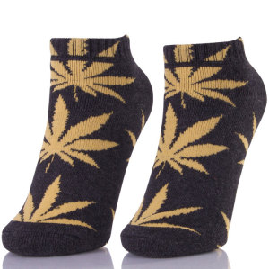 Brand HUFNAGEL Weed Ankle Socks Men In Stock