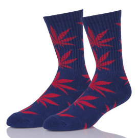 Custom Design Cotton Maple Leaf Socks