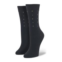 Custom Black Dress Socks Men Cotton