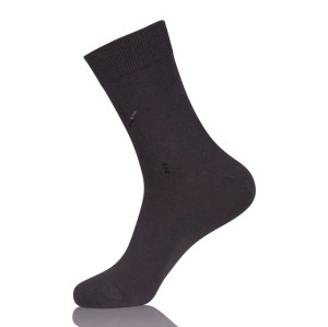 Mens Combed Cotton White Dress Socks