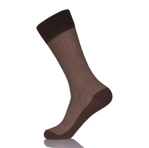 Custom Men Sheer Dress Socks