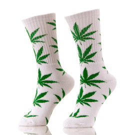 Quality Cotton Hemp 420 weed Sport Spot Sock Men