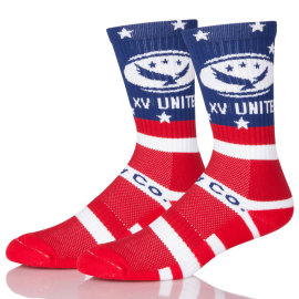 Awesome Red Skateboard Socks