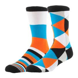 Custom Sublimated Hockey Argyle Printed Socks For Men