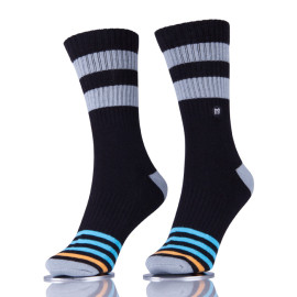 Mens Athletic Skateboard Socks Custom Logo Color