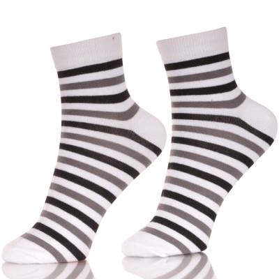 Leisure Stripe Cotton Underwear Socks