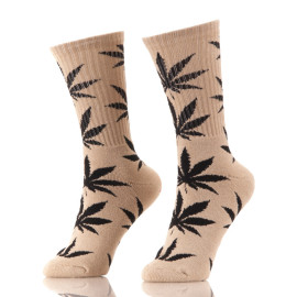 Cannabis Leaf Unique Socks
