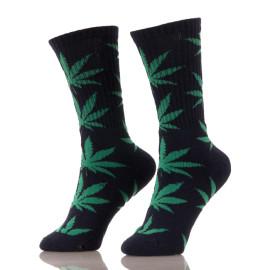 Loom Knitting Handmade 420 Weed Plant Leaf Socks