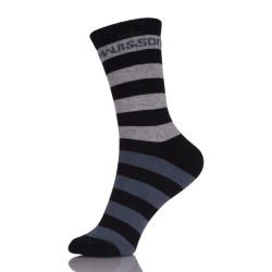 Wholesale Cotton Stripe Socks For Men