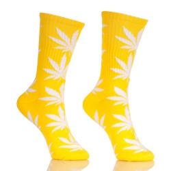 HUFNAGEL Brand Weed Leaf Cotton Hemp Fashion Custom Socks