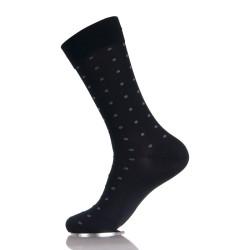 Custom Dress Mercerized Cotton Trendy Socks For Men