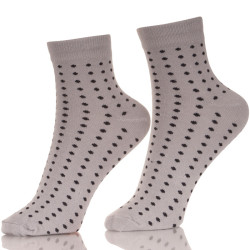 With Lights That Light Up Polka Dots Cotton Mens Socks