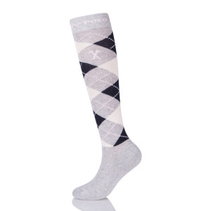 High quality Gray Unisex Athletic Horse Riding Compression Socks