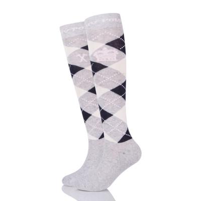 Wholesale OEM Horse Equipment Equestrian Cotton Socks For Men