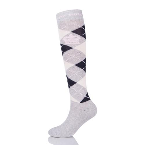 Wholesale Custom Printing Nylon Horse Riding Pattern Equestrian Socks