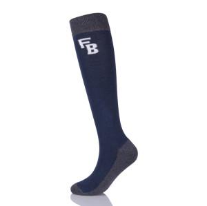 Custom Jacquard Knee High Horse Riding Equestrian Sports Socks