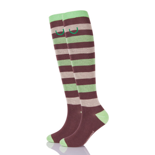 Custom High Quality Long  Socks Horse Riding Equestrian Socks