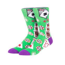 Wholesale Newest Crew Socks Men Custom Design Top Quality Cotton Pattern Tube Socks