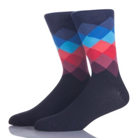 Work Dress Cotton Socks Men Custom