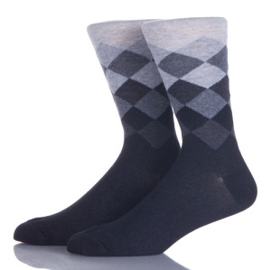 Work Dress Cotton Socks Men Custom