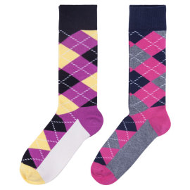 Mens Dress Socks, Fun Colorful Socks For Men Cotton Funky Socks