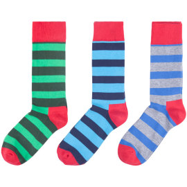 Men Dress Socks Funky Colorful Printed Novelty Cotton Crew Socks Cool Fashion Funny