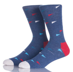 Funny Cotton Resistant Business Dress Men's Crew Socks Korea