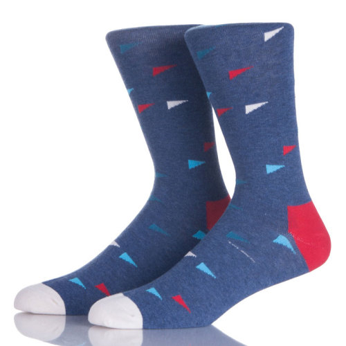 Funny Cotton Resistant Business Dress Men's Crew Socks Korea