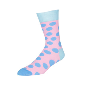 Wave Point Crew Cotton Cute Girl Socks British Style Casual Fashion Art  Funny Socks