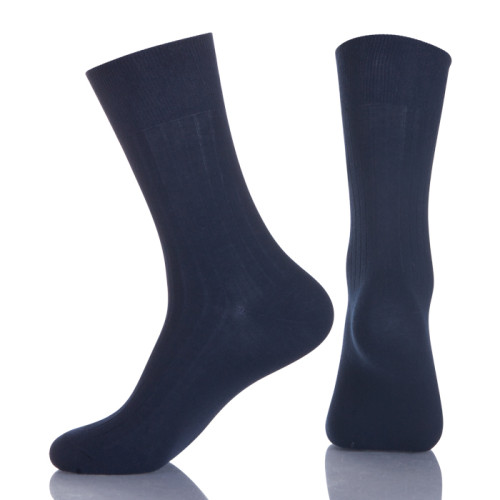 Casual Dress Bamboo Thick Black Business Socks