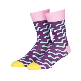 Anti-bacterial Crew Crazy Cool Socks For Women