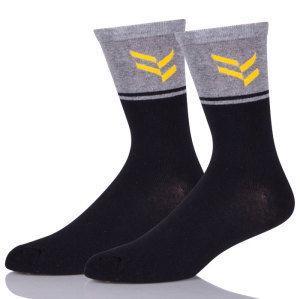 Fashion Coloured Novelty Fun Socks For Men, Mens Printed Funny Dress Socks