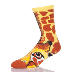 Unisex Crazy Fun Cool 3D Print Animals Colorful Athletic Sport Novelty Crew Tube Socks