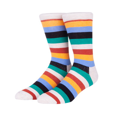 100% Cotton Thick Mens Custom Dress Socks