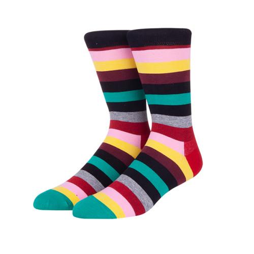 Men Nylon Socks Designs Striped Socks