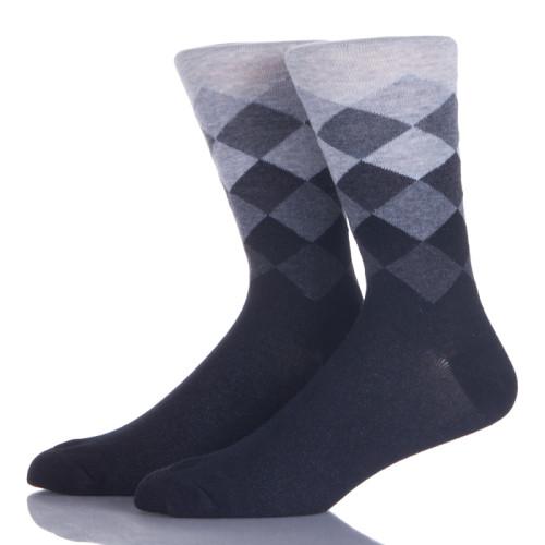 10 Pack Colorful Rhombus Ankle Socks Casual Cozy Crew Socks For Men