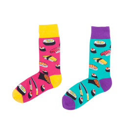 Japanese Style Color Sushi Socks  From China Zhejiang Socks Manufacturer