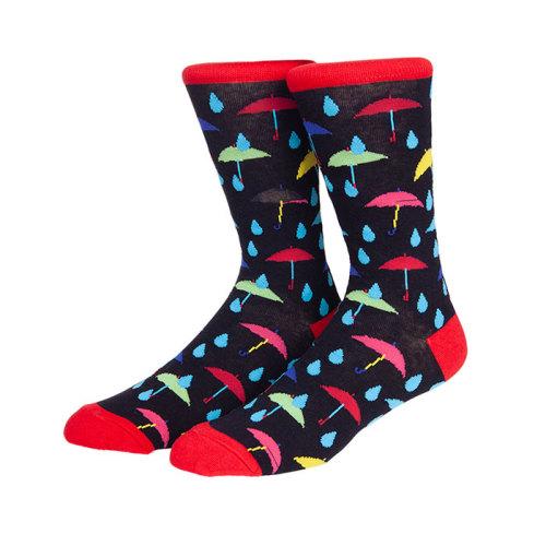 2019 New Design 3D Cartoon Umbrella Pattern Tube Kids Funny Socks