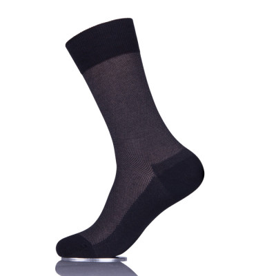 Personalised Mens Black Business Socks Online Men In Black Dress Socks