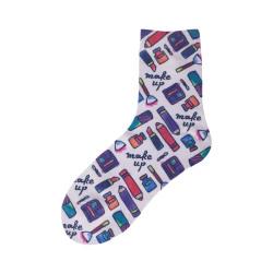 Custom Crew socks Printed Sublimation Breathable Sock Sokken Sox
