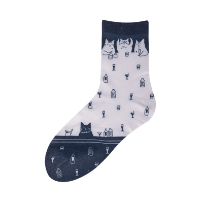 Wholesale Custom Print Polyester Socks for Sublimation