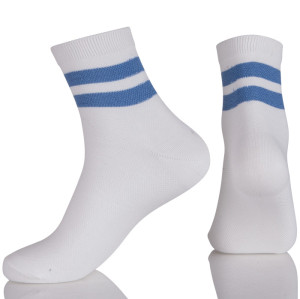 Anti-Foul Thick White Crew Socks For Men Ankle Dress Socks