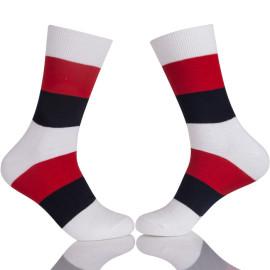 Black Office Camp Socks,Buy Black Mens White Stockings Online