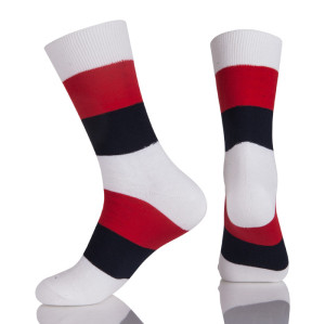 Black Office Camp Socks,Buy Black Mens White Stockings Online