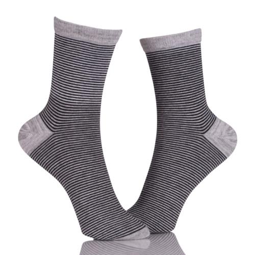 Men's Socks Striped Ankle Socks Men Summer Breathable Thin Male Crew Socks