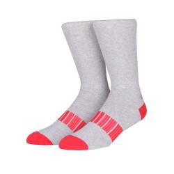Custom Logo Design Non Slip Running Sublimated Sport Compression Men Socks
