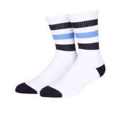 Turn Cuff Sock Soft Striped Sock Casual Cotton Crew Athletic Sport Custom Non-Slip Socks